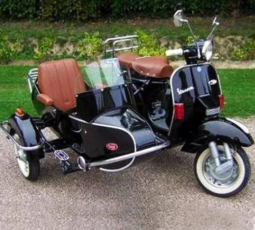 Vespa Scooter Euro Style Cozy Kozi Sidecar