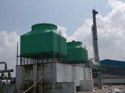 FRP Single Cell Cooling Tower