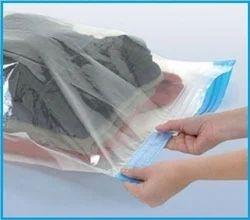 White Transparent Garment Storage Bag, Size: 50 x 70 - 100 x 120cm