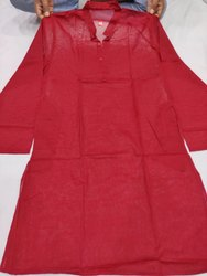 Plain Formal Wear Mens Indo Kurta, Chinese, Size: 34 to 44