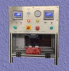 Perfume bottle pressure tester