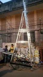 Aluminium Light Hand Tower Ladder