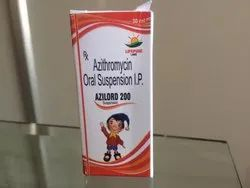 Azilord 200 Azithromycin Oral Suspension I.P.