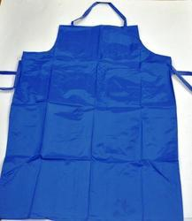 SS & WW Make Blue Poly Nitro Polypropylene Apron Size 24''''36