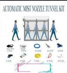 Automatic Mist Nozzle Tunnel Kit