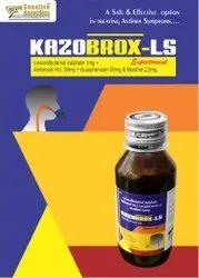 Levosalbutamol sulphate  Ambroxol Hcl Guaiphenesin Menthol