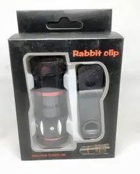 rabbit clip mobile camera lens