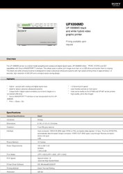 Sony B&W Ultrasound Printer - UPX898 MD
