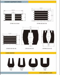Crusher Rubber Spare Parts
