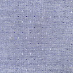 Cotton Blue Bamberg X Modal Dobby Fabric