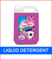5 Litre Liquid Detergent Plastic Cans