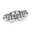 Stainless Steel Pudding Set