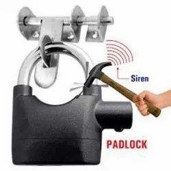 Siren QTH PAD LOCK ALARM, For Security, Stainless Steel