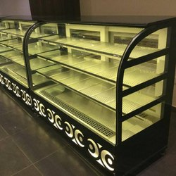 Chocolate Cake Display Counter