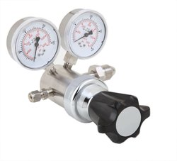 High Pressure High Flow Regulator  SS/Brass