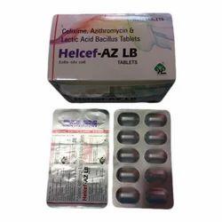 Cefixime Azithromycin And Lactic Acid Bacillus Tablets
