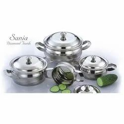 Sania Diamond Touch Stainless Steel Utensils Set