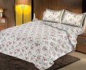 Rose Print Bedsheets for Double Bed