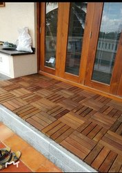 Ipe Wood deck Tiles