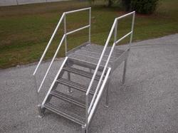 Aluminium Stairway With Paltform
