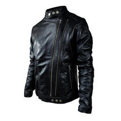Black Women Biker Leather Jacket