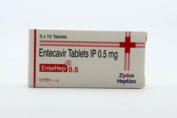 Entehep 0.5mg Tablets
