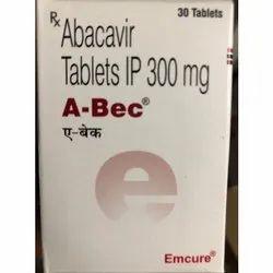 Abacavir Tablets IP 300 mg