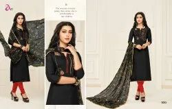 Chanderi Silk Fancy Salwar Suit