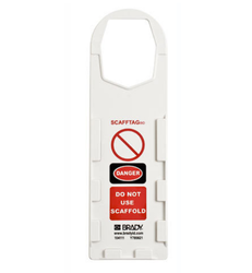 Scaffold Safety Management System Tag