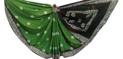 Casual Wear Madurai Sungudi Saree, 5.5 m (Separate Blouse Piece)