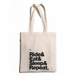 140 Gsm Cotton Tote Printed Bag