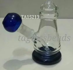 An Oil Rig for Samples Glass Smoking Pipe