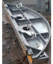 Grey Cast Iron Discharge Door