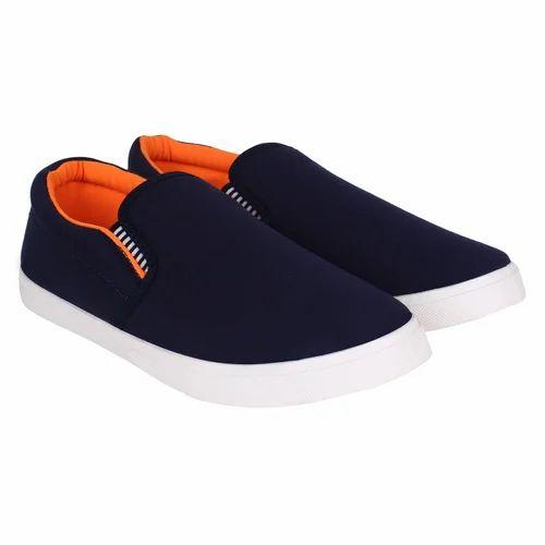 1d2444b2074 Sporter Men Blue Canvas Loafers Shoes 486