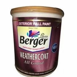 Berger High Sheen Weathercoat All-Guard, Packaging Type: Bucket