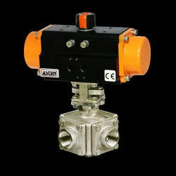Pneumatic Ball Valve SS Industrial Valves