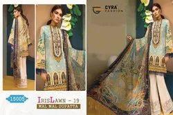 Cyra Faction Launch Iris Lawn Vol 19 Cotton Print Suit