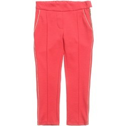 Pink Cotton Ladies Casual Pant