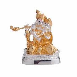 Silver God Idols Radha Krishna