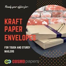 Classic Brown Kraft Office envelopes, Thickness: 60 To 90 Gsm