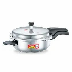 Silver Outer Lid 4 Litre Stainless Steel Deluxe Senior Pressure