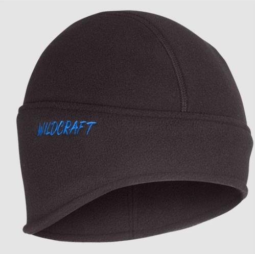 bfc25488a Wildcraft Anthracite Black Fleece Ski Cap
