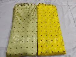 Satkaar Floral Silk Brocade Fabric