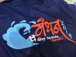 Men Blue T-Shirt