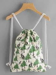 Canvas Drawstring Bagpack