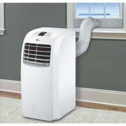 White LG Portable Air Conditioner