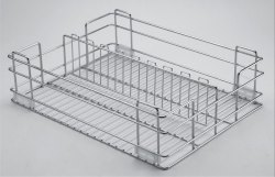 SS Pet Jar Partition Basket