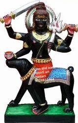 Black Marble Kaal Bhairav Statue