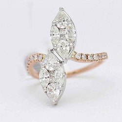 Fancy Diamond Cocktail Rings
