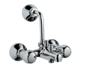 Silver Jaquar Wall Mixer 3-in-1 System